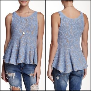 🆕 FREE PEOPLE Side by Side Flared Tank